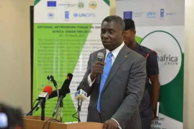 Professor Kwabena Frimpong-Boateng, Minister for Environment, Science, Technology and Innovation